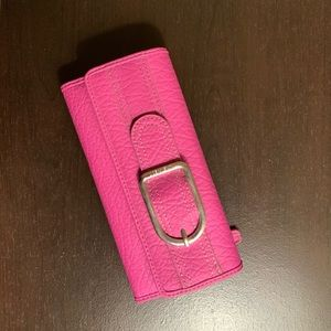Nine West bright pink wallet